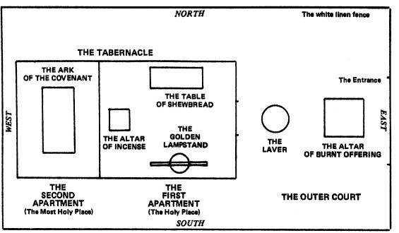 In Terumah  this week s Torah  Tabernacle Drawing