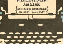 Remember Amalek