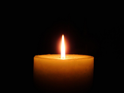 On Lighting A Yizkor Or Yartziet Candle To Bend Light